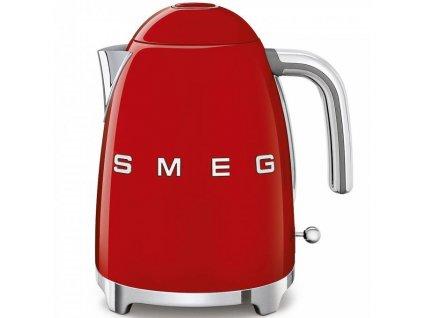 SMEG 50's Retro Style rychlovarná konvice 1,7l červená