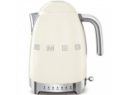 SMEG 50's Retro Style rychlovarná konvice 1,7l LED indikátor krémová