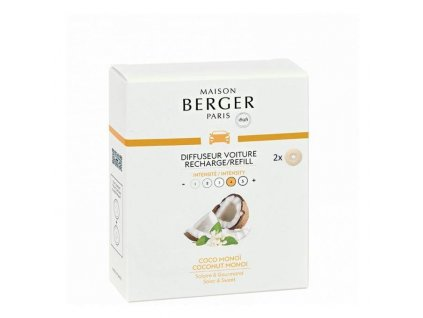 BERGER CAR 2 náhr. náplně Coco Monoi / Coconut Monoi