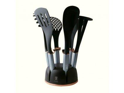 Kuchyňské náčiní ve stojanu sada 7 ks Moonlight Edition BERLINGERHAUS BH-6242