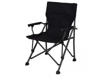 Židle campingová REDCLIFFS skládací černá