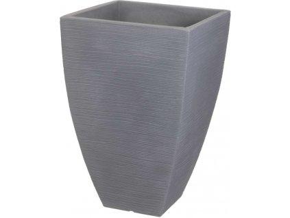Květináč žebrovaný 40 x 60 cm šedý PROGARDEN KO-Y54191550