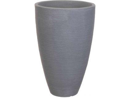 Květináč žebrovaný 40 x 60 cm šedá, Progarden KO-Y54191520