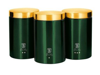 Dóza na potraviny sada 3 ks Emerald Collection BERLINGERHAUS BH-6272