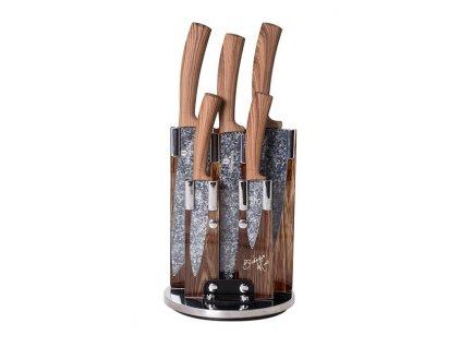 Sada nožů ve stojanu nerez 6 ks Forest Line