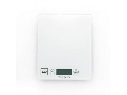 Váha kuchyňská digitální 5 kg PINTA bílá KELA KL-15740