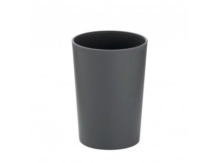 Pohár MARTA plastik šedá H 11cm / Ř 8cm KELA KL-24196