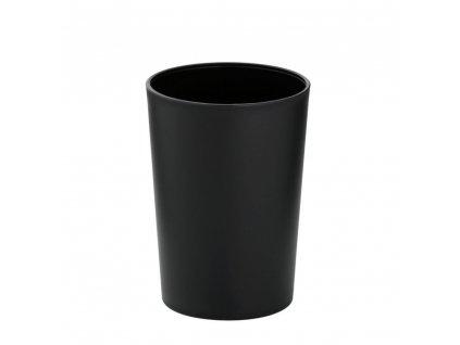 Pohár MARTA plastik černá H 11cm / Ř 8cm KELA KL-24201