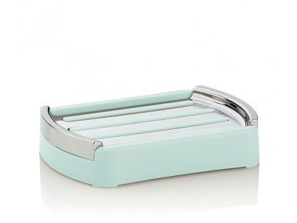 Miska na mýdlo MARTA plast pastelová zelená