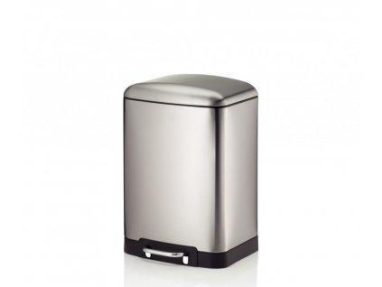 Odpadkový koš DAVINO nerezová ocel L 27cm x W 23cm x H 40cm / 12 KELA KL-10902