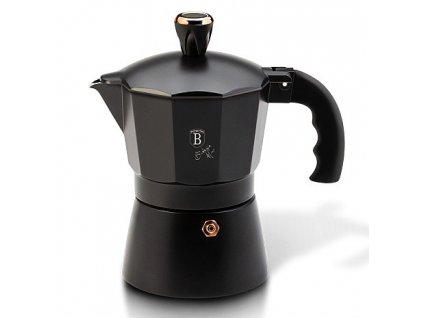 Konvice na espresso 3 šálky Black Rose Collection