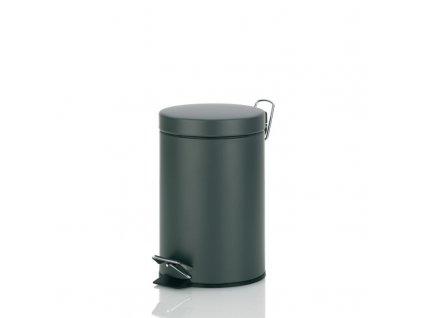Koš kosmetický CANOSA 3 l, tmavě šedý KELA KL-21885