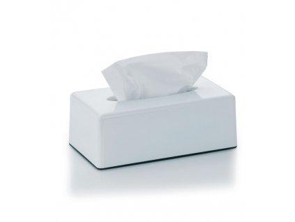 Kosmetický box na kapesníky PANNO plast, bílý KELA KL-22347