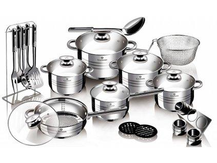 Sada nádobí nerez 27 ks Gourmet Line BLAUMANN BL-3134