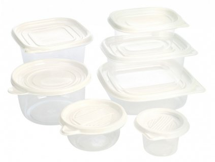 Dóza na potraviny plast Jumbo sada 27 ks