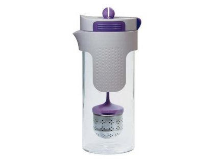 Konvička na čaj a kávu nerez 750 ml fialová STONELINE WX-14166