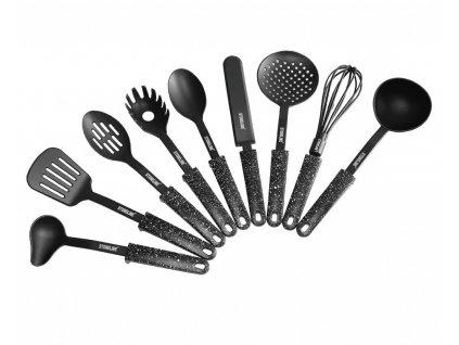 Náčiní kuchyňské plast, sada 9 ks STONELINE WX-14125