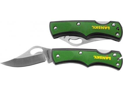 Kapesní nůž Small Lockback zelený, Lansky