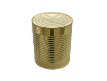 Vojenská konzerva, kroupová polévka s masem