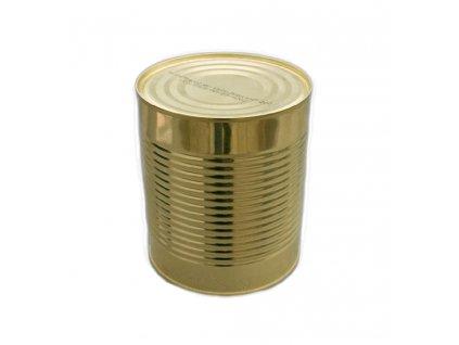 Vojenská konzerva, zeleninová polévka s masem