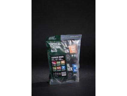 Set 6x MRE dehydrovaného jídla - Tactical Six Pack Bravo, Tactical Foodpack