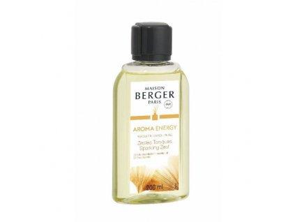 BERGER Aroma Energy Sparkling zest / Čerstvé tonikum náplň do difuzéru 200ml