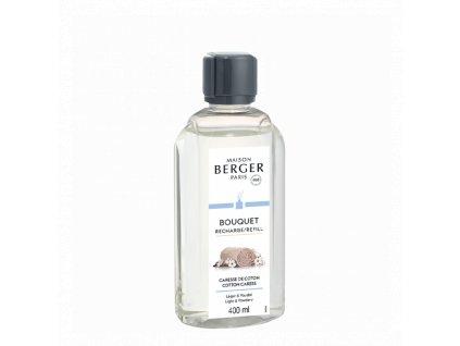 BERGER Cotton Caress / Bavlněná péče náplň do difuzéru 400ml