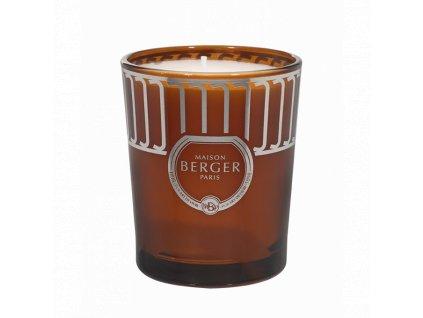 BERGER Land svíčka Ambrový prach 180g terakota (C12021)
