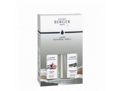 BERGER Land duopack Fíkové mléko / Divoký bodlák náplň do lamp 2x250ml (C12021)