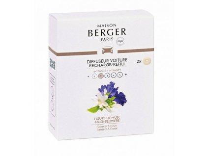 BERGER CAR 2 náhr. náplně Musk Flowers / Květy pižma (C22021)