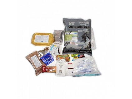 Vojenská potravinová dávka MRE, ARPOL WZ, Set 2- Bograc