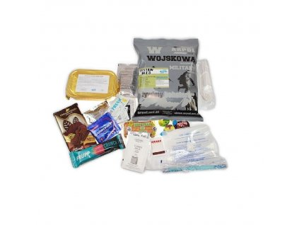 Vojenská potravinová dávka MRE, ARPOL WZ, Set 3