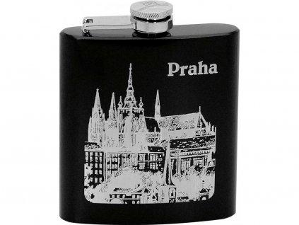 97110 Placatka na alkohol Praha černá 175ml