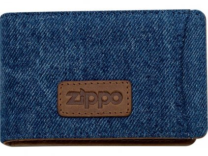 44161 Kožené pouzdro na kreditní karty Zippo