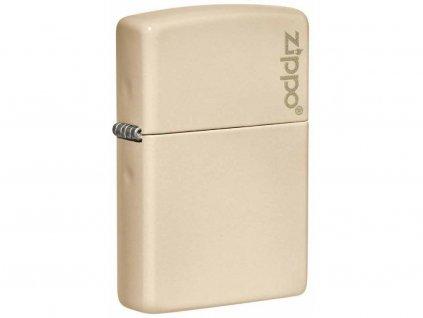 Zapalovač Zippo 26950 Flat Sand Zippo Logo