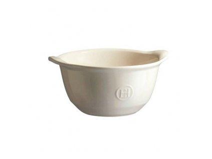 Miska na polévku, zapékací Emile Henry Ultime, slonová  kost, 0,55 l