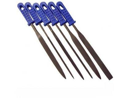 Jehlové pilníky sada 6 ks ERBA ER-03001
