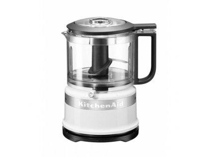 KitchenAid Mini Food Processor 5KFC3516, bílá, 830 ml