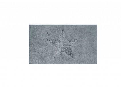 Koupelnová předložka LINDANO 100% bavlna šedá 65x55cm KELA KL-21170