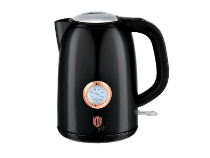 Rychlovarná konvice 1,7 l s termostatem Black Rose Collection BERLINGERHAUS BH-9077