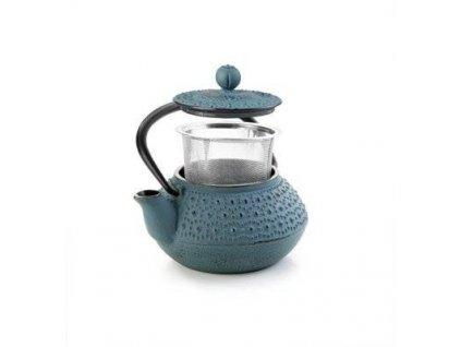Litinová konvička na čaj modrá Manaos 300ml - Ibili