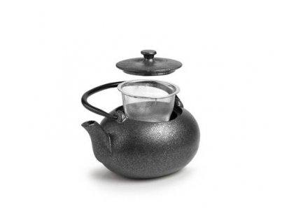 Čajová konvička černá Sana 0,6l - Ibili