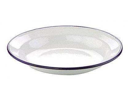 Hluboký talíř smaltovaný 22 cm - Ibili