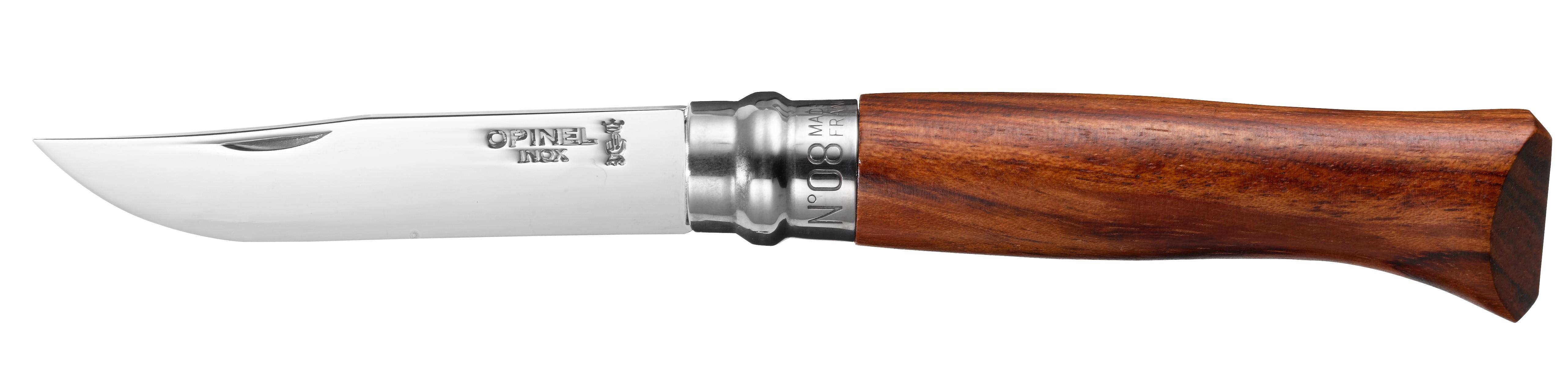 Opinel VR N°08 Inox Bubinga, 8,5 cm