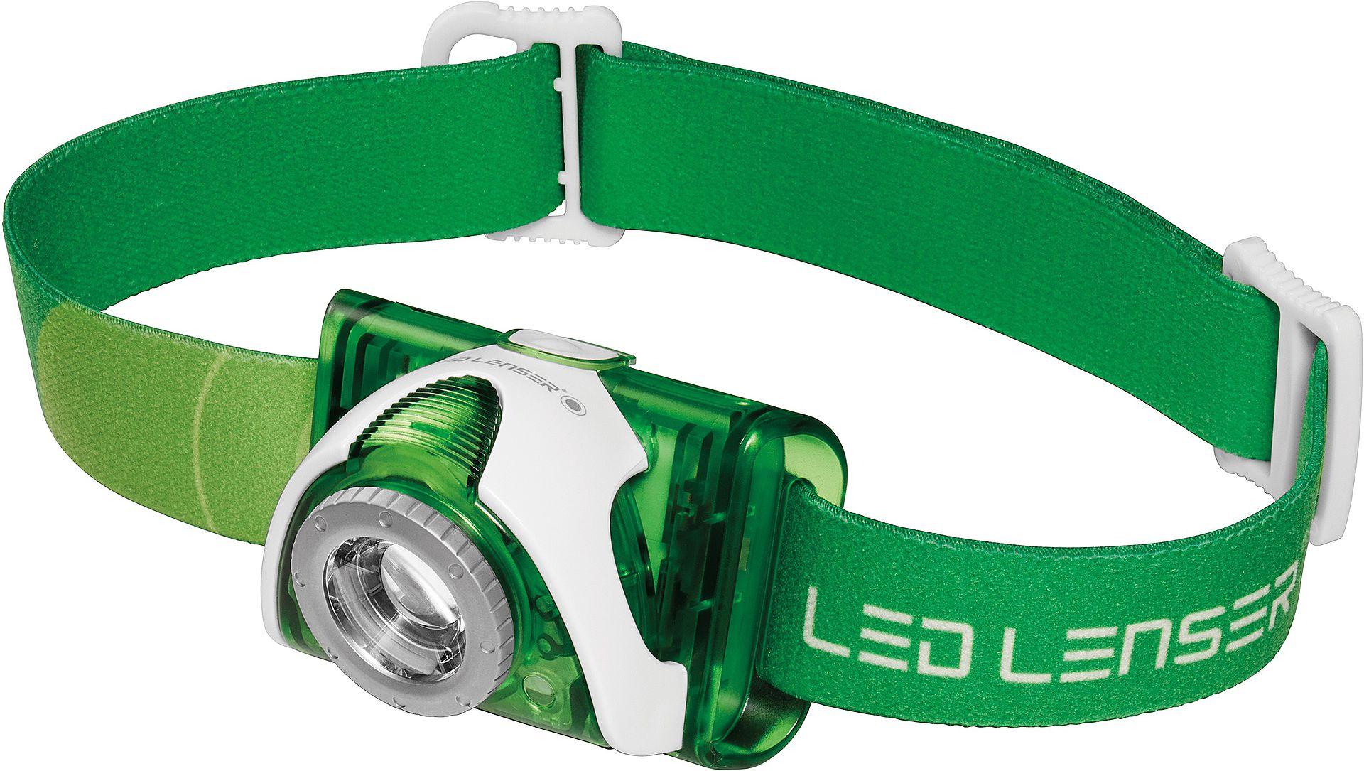 LedLenser LED LENSER SEO3, zelená