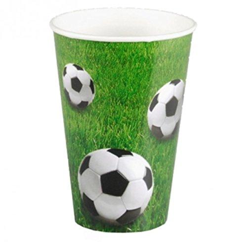 PAPSTAR papírové kelímky Fotbal 0, 2 l, v sadě 10 ks