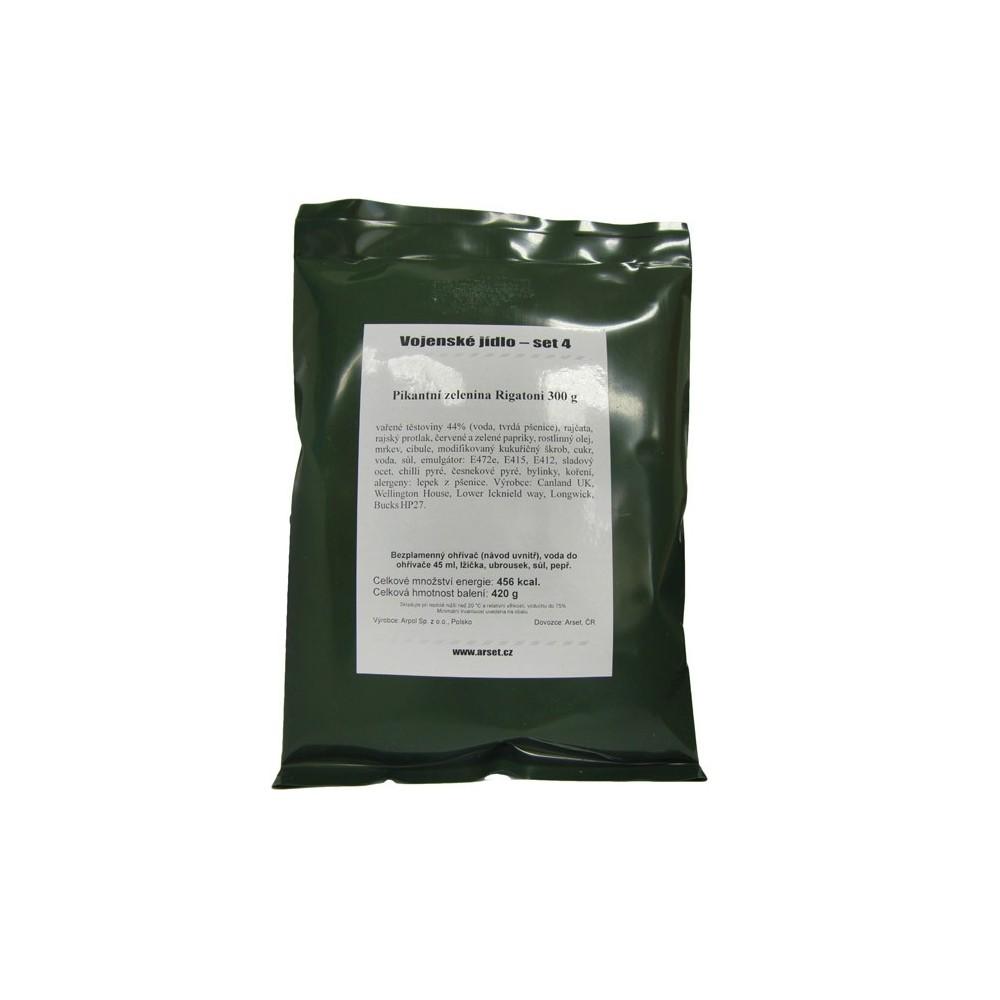 Vojenská potravinová dávka Arpol MRE VJ, Set 1