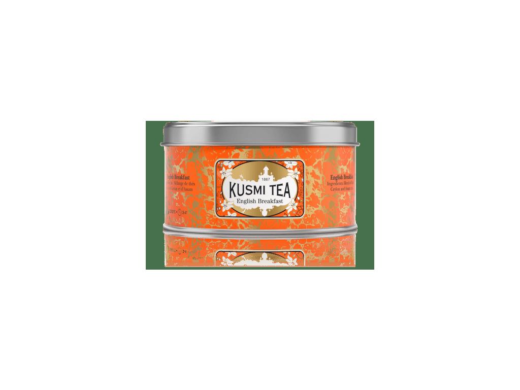 Kusmi Tea English Breakfast, plechovka 125 g