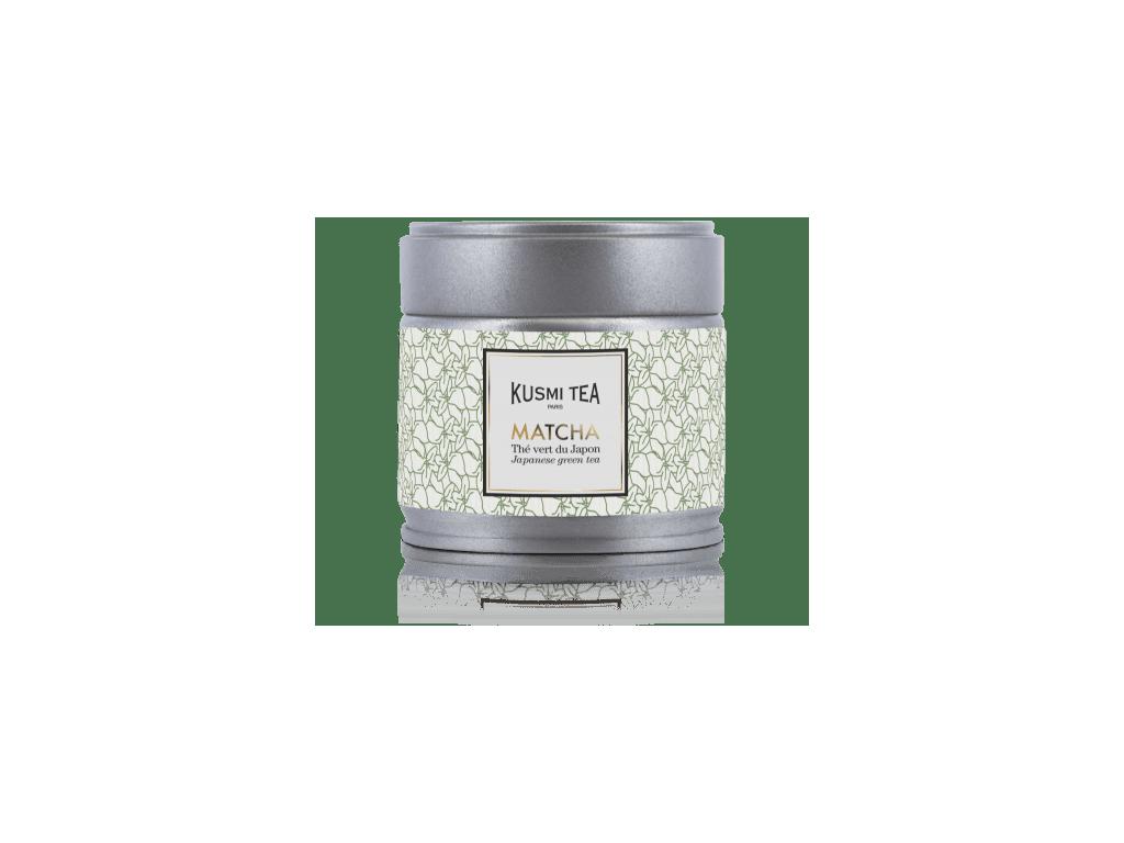 Kusmi Tea Matcha, 30 g kovová dóza