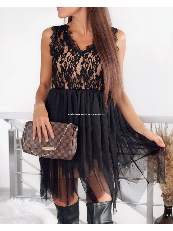 Krajkové elegantní šaty MISSY